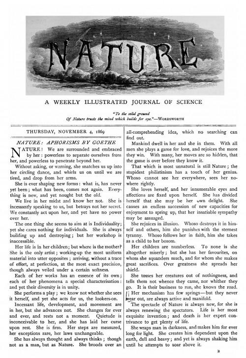Will man wirklich in einer Zeitschrift publizieren, deren Logo wie aus einem Harry-Potter-Film aussieht? (Bild: Public Domain)