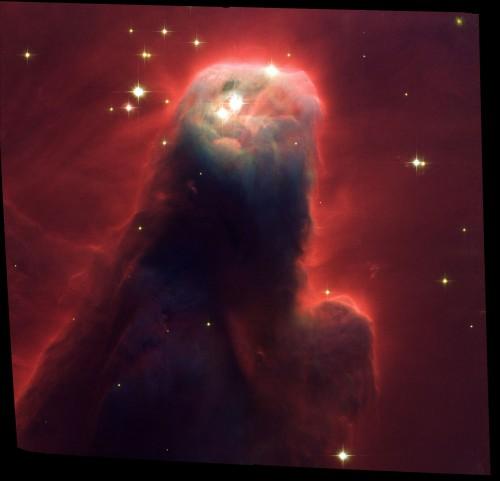 Der Konusnebel (Bild: NASA, H. Ford (JHU), G. Illingworth (UCSC/LO), M.Clampin (STScI), G. Hartig (STScI), the ACS Science Team, and ESA, Public Domain)