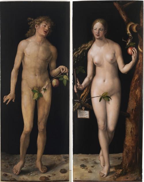 Manche Unterschiede zwischen Mann und Frau sind definitiv vorhanden - und im Allgemeinen wachsen vor ihnen auch keine Pflanzen... (Bild: Public Domain)