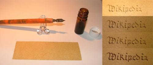 Tinte verändert sich, wenn sie älter wird...  Bild: Lord Skunk, public domain)
