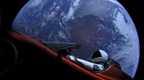 Ein beeindruckendes Bild - aber wie lange fasziniert es die Menschen? (Bild: SpaceX, Public Domain)