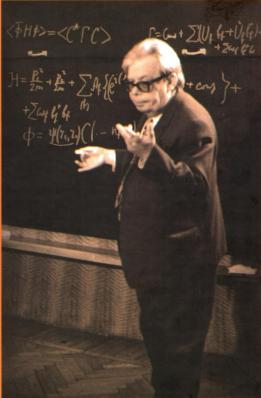 Nikolai Nikolaievich Bogoliubov. Von seinen Transformationen gibt es genau so viele Bilder wie von der Hawking-Strahlung (Bild: CC-BY-SA 2.5)