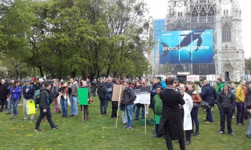 Die Wissenschaft sollte immer draußen sein, nicht nur beim March of Science