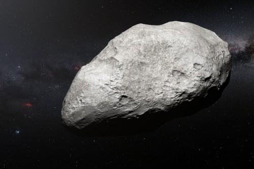 Künstlerische Darstellung eines Asteroids (Bild: ESO/M. Kornmesser)