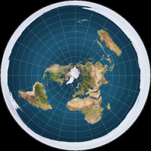 Die Erde ist nicht flach (Bild: Trekky0623, gemeinfrei)