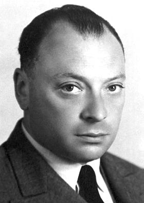 Wolfgang Pauli! Diesem Blick bleibt nicht mal ein Neutrino verborgen... (Bild: Public Domain)