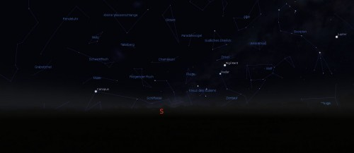 Screenshot Stellarium (GFDL)