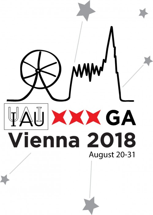IAU XXX General Assembly Vienna (Logo: IAU)
