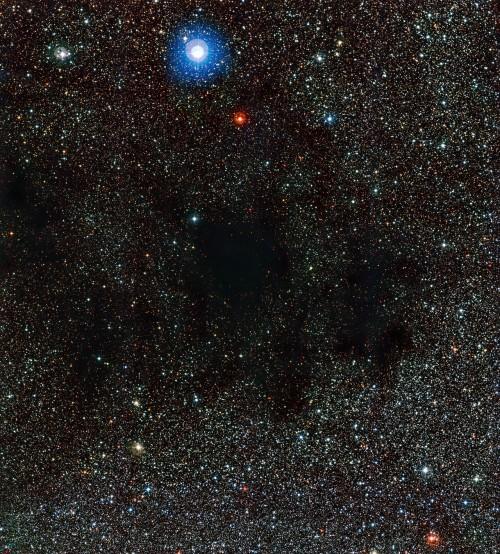 Ein Teil des Kohlensacks (Bild: ESO)