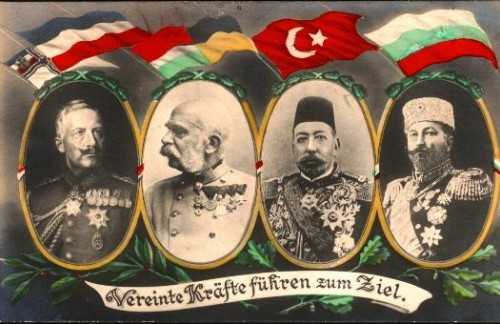 Die Mittelmächte waren nach dem 1. Weltkrieg nicht sonderlich beliebt... (Bild: gemeinfrei)