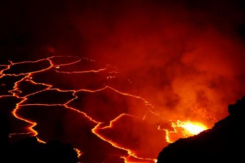 Lava auf Hawaii (Bild: NASA, gemeinfrei)