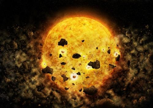 Künstlerische Darstellung: NASA/CXC/M.Weiss