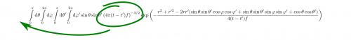 Konstante Faktoren können vor das Integral gezogen werden. Ob ich eine Funktion mit einer Konstanten multipliziere und dann integriere oder erst integriere und dann multipliziere, ist also egal. selbstgemacht)