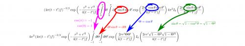 Variablensubstitution ist ein wichtiger Trick, um Integrale zu vereinfachen. Eine Teil einer Funktion wird durch eine neue Variable ersetzt, mit der sich insgesamt hoffentlich ein einfacherer Integrand ergibt. Dieses Video erklärt euch das etwas ausführlicher. (selbstgemacht)
