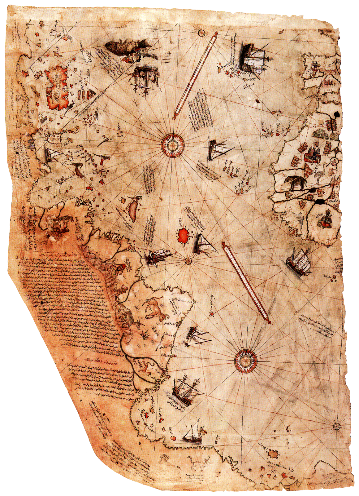 Die Karte des Piri Reis –