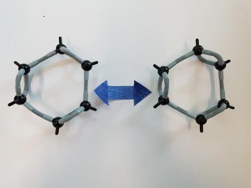 Beispieldarstellung eines delokalisierten Elektronensystems