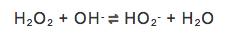 Dies ist die Reaktionsgleichung des chemischen Gleichgewichts.