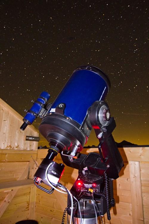 Das schuleigene Teleskop
