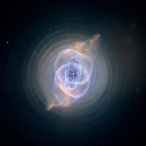 Katzenaugennebel (Bild: NASA, ESA, HEIC, and The Hubble Heritage Team (STScI/AURA), gemeinfrei)