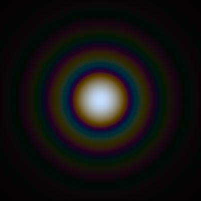 Airy-Scheibchen (Bild: SiriusB, public domain)