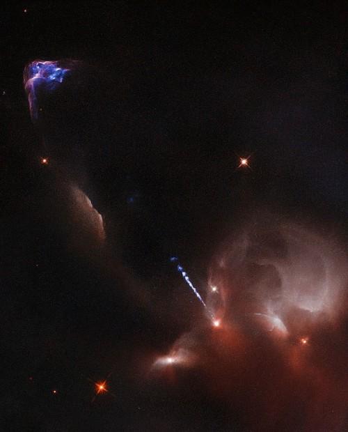 Herbig-Haro-Objekt 34 (Bild: ESA/Hubble & NASA)