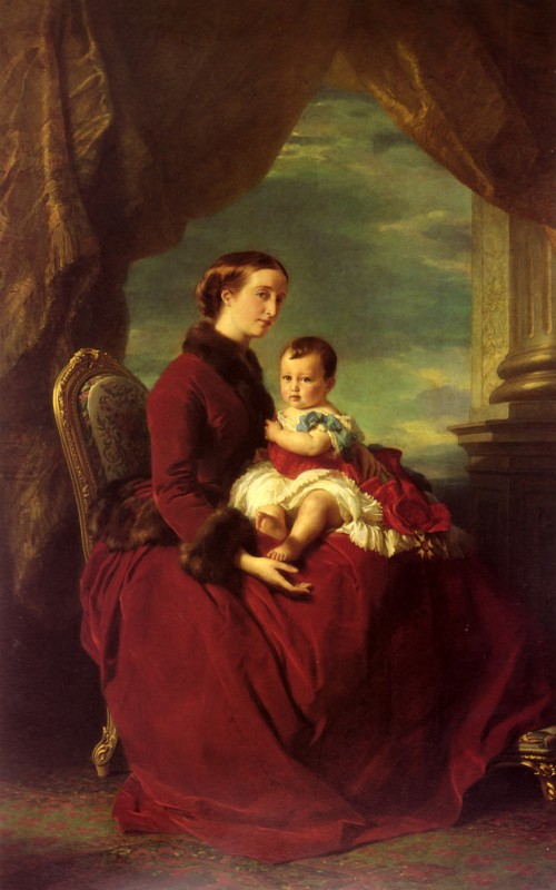 Eugènie und ihr kleiner Prinz (Bild: gemeinfrei