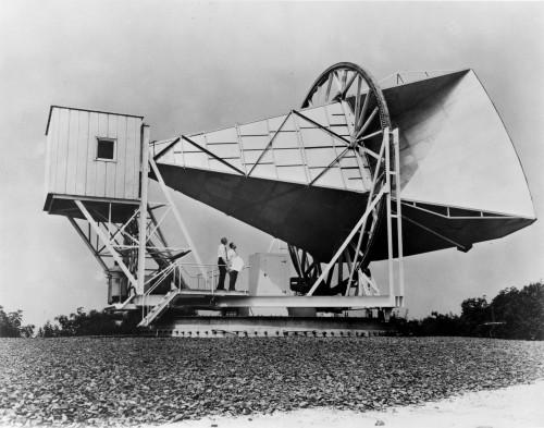 Die Antenne mit der alles anfing (Bild: NASA, gemeinfrei)