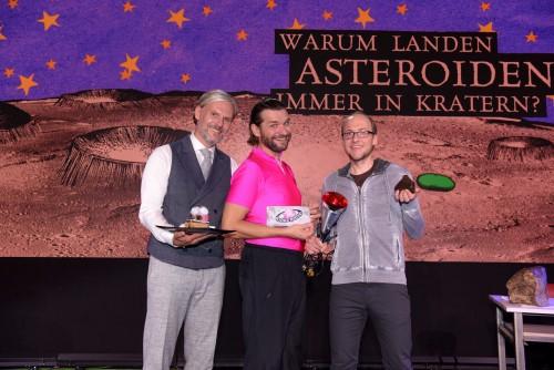 Warum landen Asteroiden immer in Kratern? (Foto: ORF/Hubert Mican)