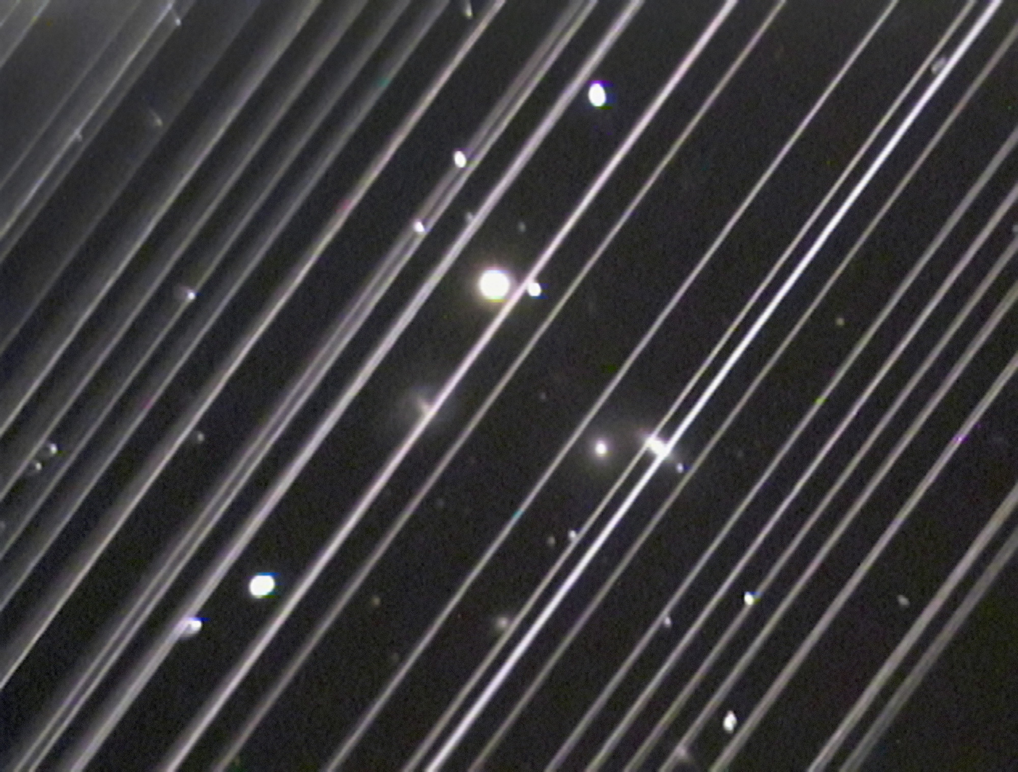 Starlink-Satelliten Sichtbar Heute