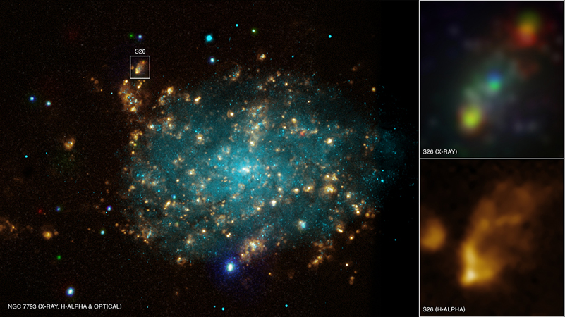 was passiert in einem quasar