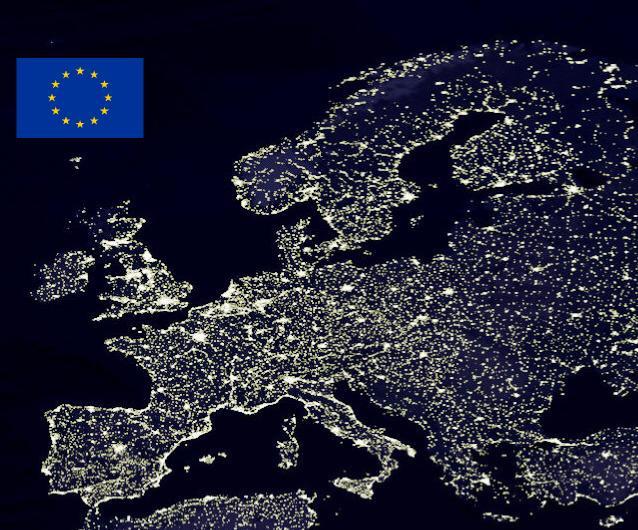 Lichtverschmutzung Karte Europa.Die Suche Nach Der Dunkelheit Astrodicticum Simplex
