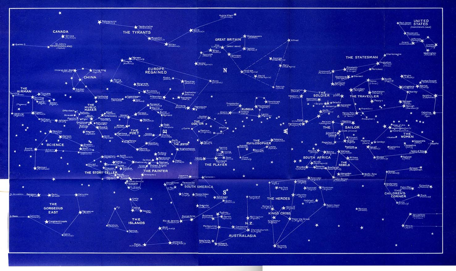 ... map for kids star constellations map northern hemisphere star