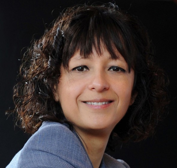 Emmanuelle Charpentier. Photo by Bianca Fioretti, Hallbauer & Fioretti. Copyright owned by Emmanuelle Charpentier who made it a Creative commons picture, CC BY-SA 4.0.