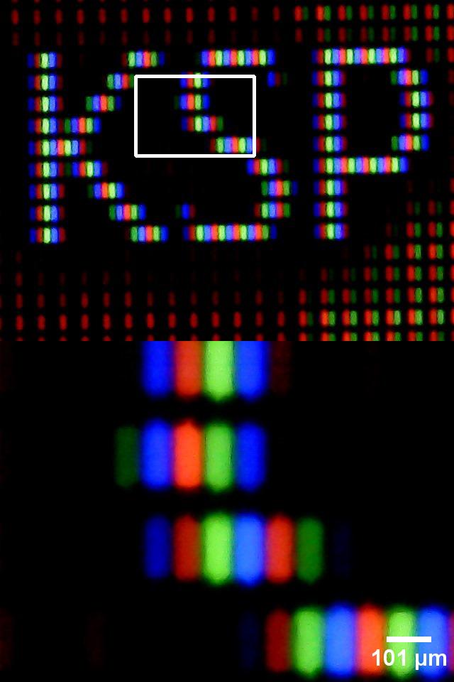 Ein Bild von meinem Laptop Display.