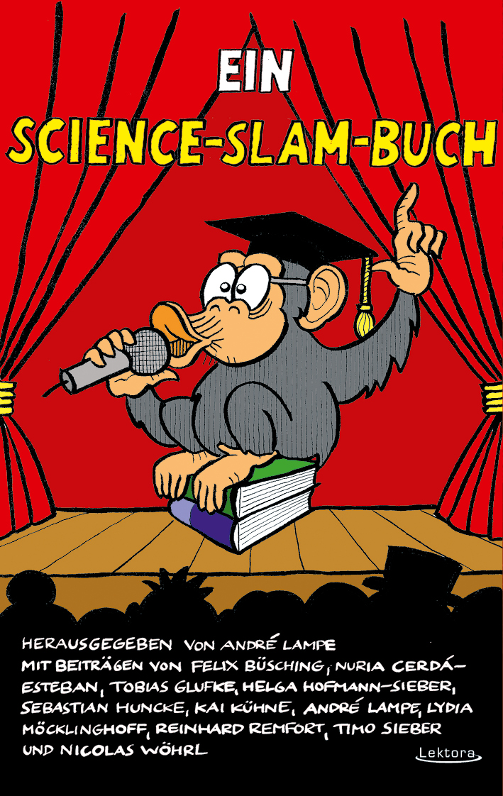 Ein Science-Slam-Buch-Cover