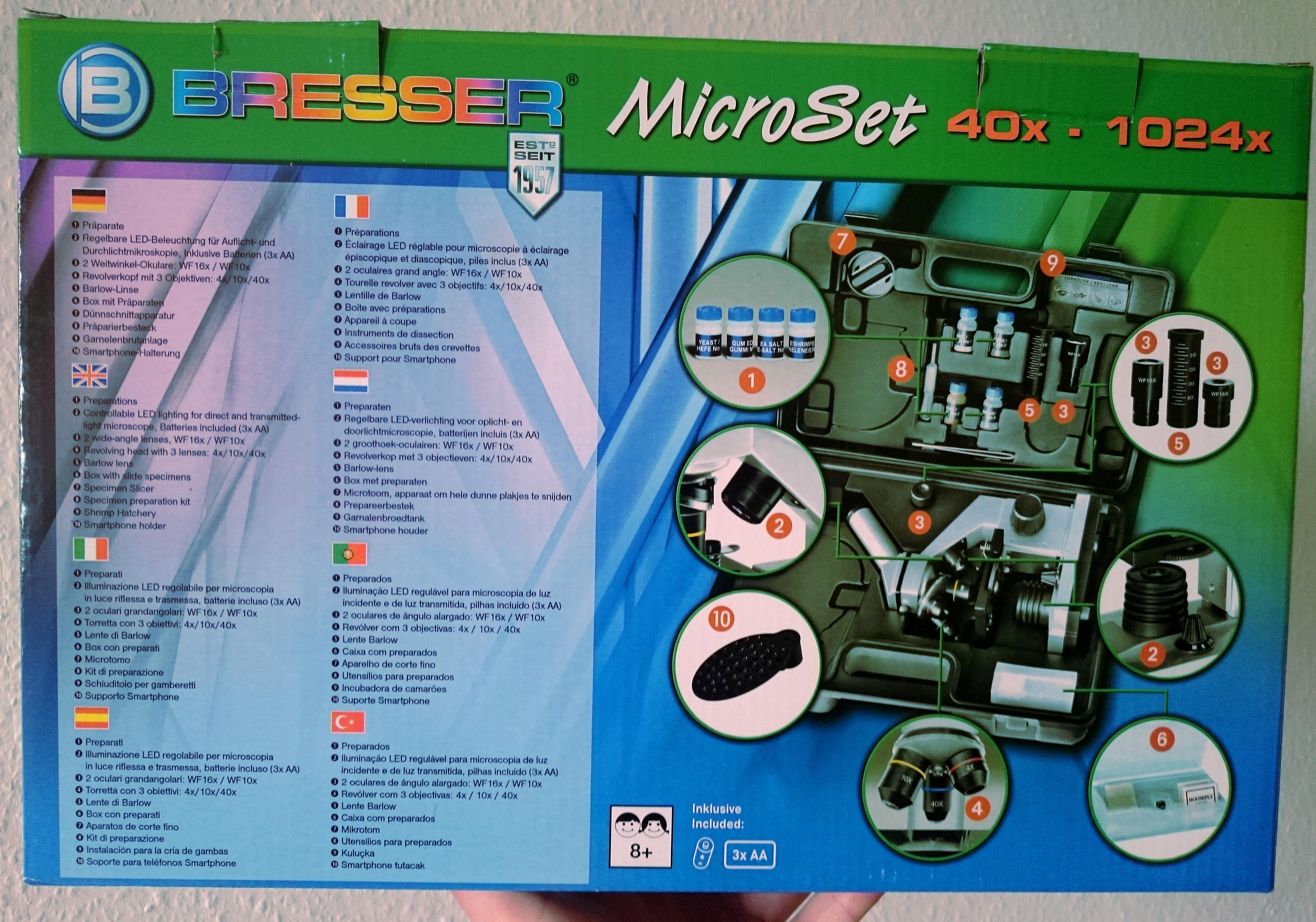 Rezension u cbresser junior biolux ca mikroskop inkl