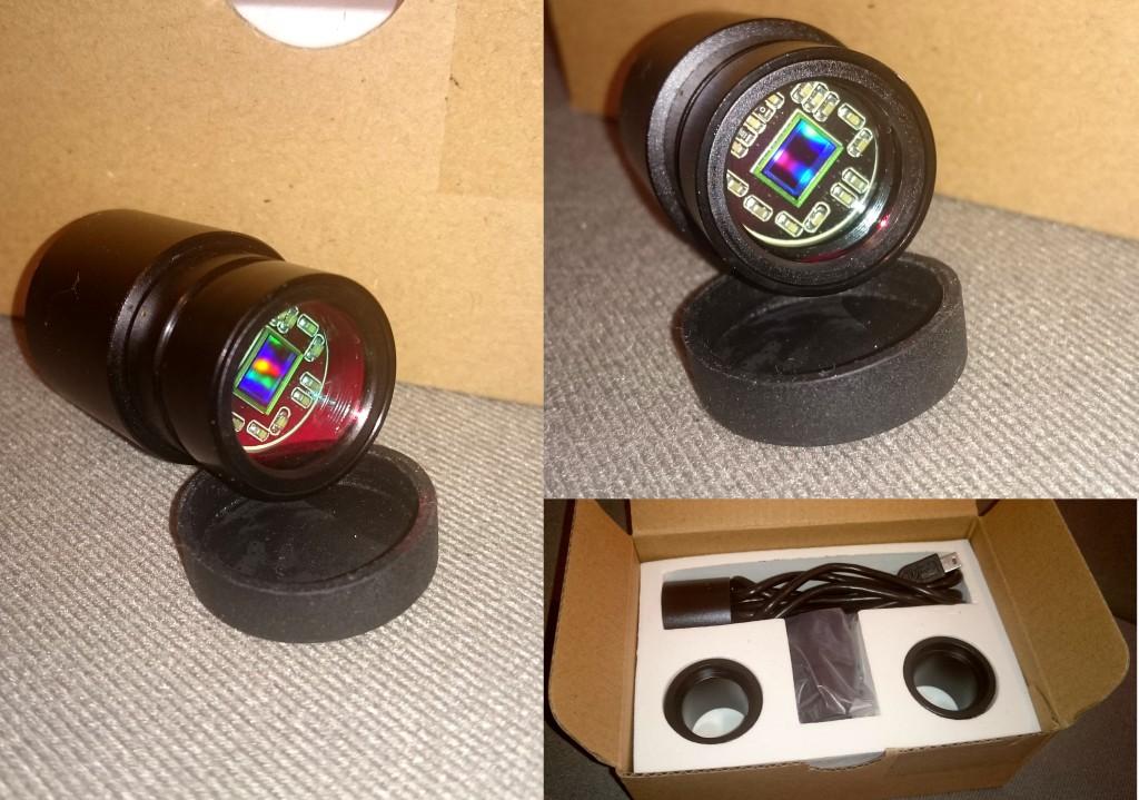 Die Bresser Mikrokular Full HD Kamera.