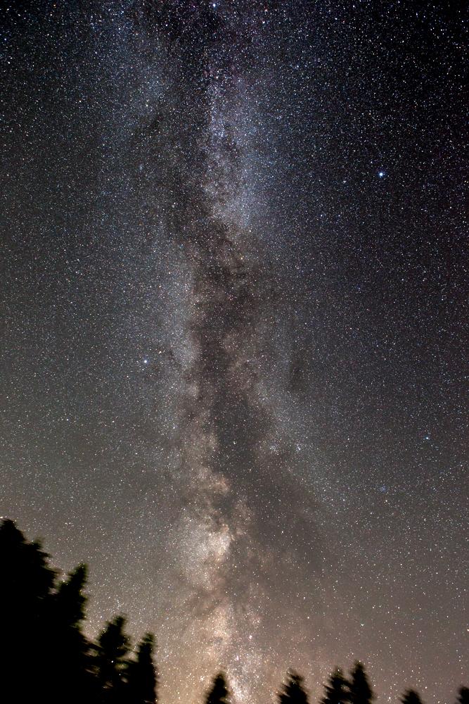 Nachthimmel über Sankt Andreasberg