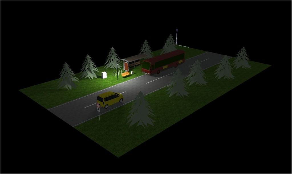 Waldhaltestelle