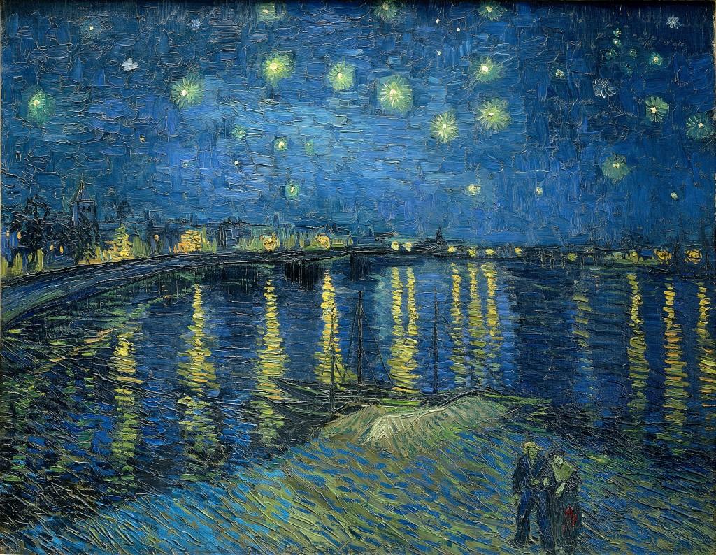 Sternennacht van Gogh