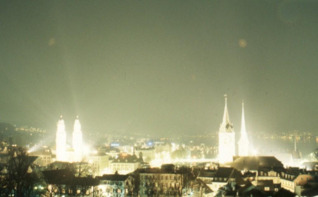 Lichtverschmutzung in Zürich