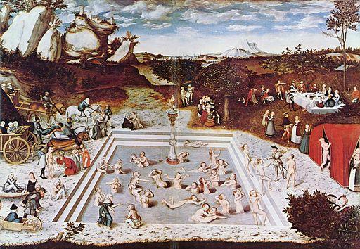 Der Jungbrunnen von Lucas Cranach dem Älteren (via Wikimedia Commons)