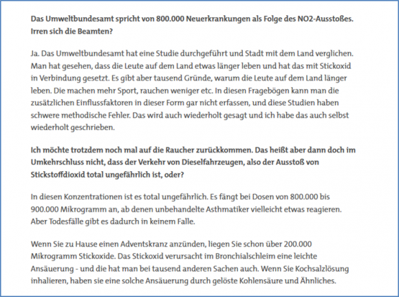 Screenshot SWR-Interview Köhler