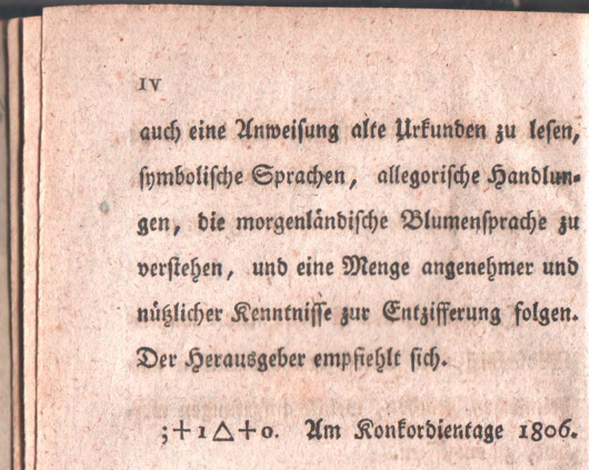 Can you solve this cryptogram from 1797?