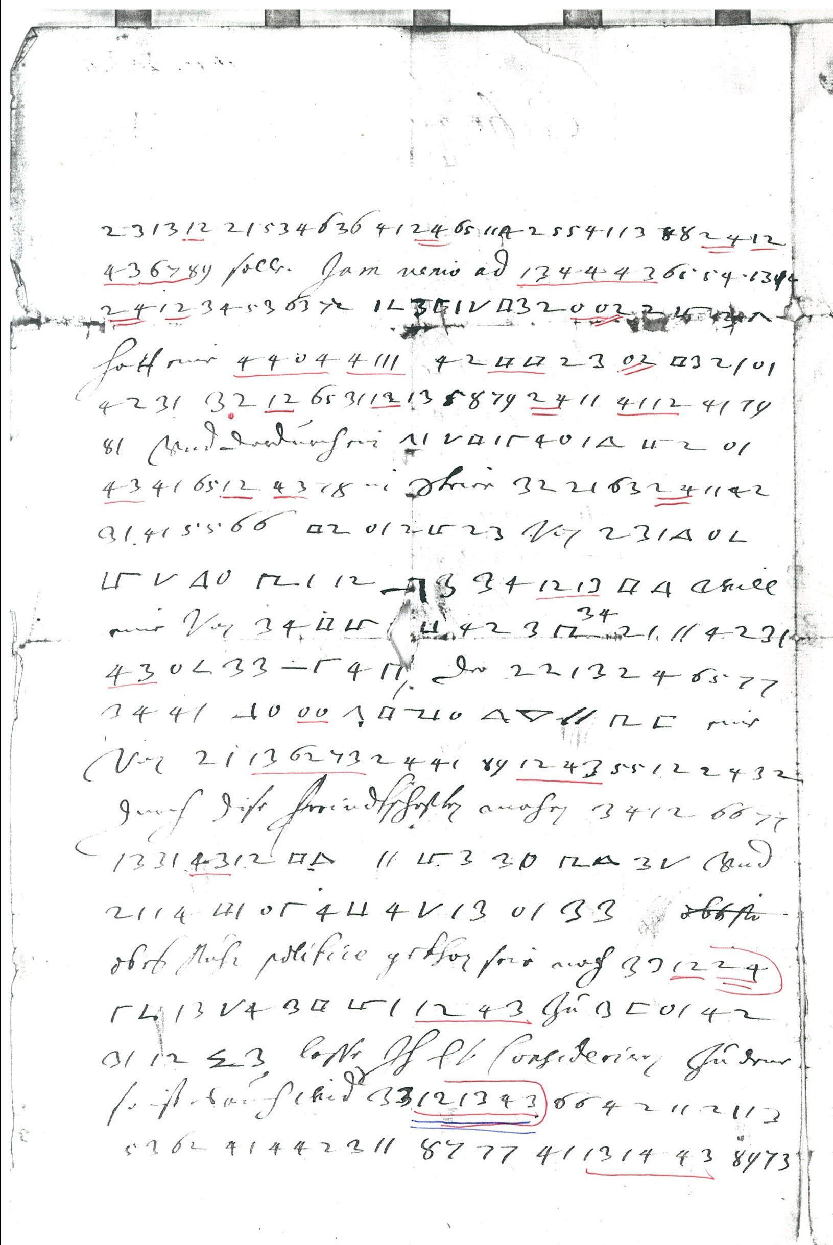 The Top 50 unsolved encrypted messages 27 Ferdinand III s
