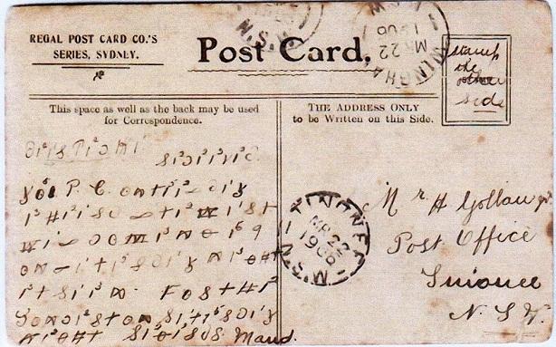 Postkarte-Australien-code-614