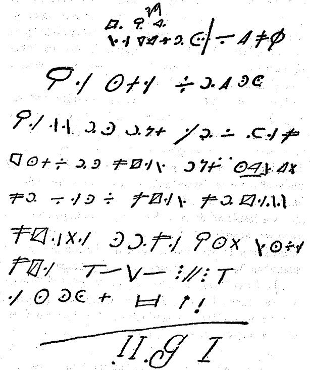 Yardley-Cryptogram