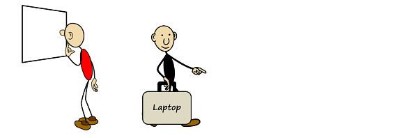 Laptop-Theft