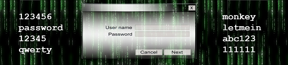Password-bar