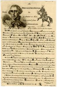 Hieroglyphic-Epistel-British-Museum-1763